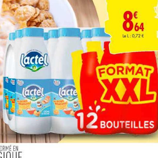 Lait Lactel Carrefour 30/06/2020 – 06/07/2020