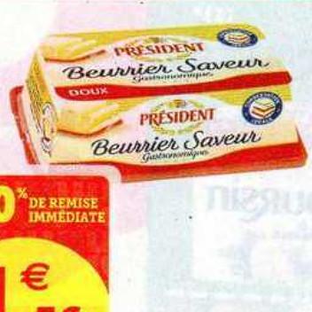Beurre Président Super U (07/07/2020 – 18/07/2020)