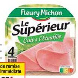 Jambon Fleury Michon Cora 30/06/2020 – 06/07/2020
