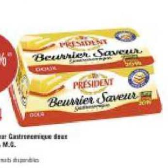 Beurre Président Géant Casino (08/07/2020 – 19/07/2020)