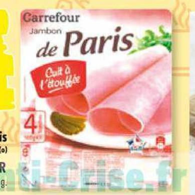 Jambon Carrefour 30/06/2020 – 06/07/2020