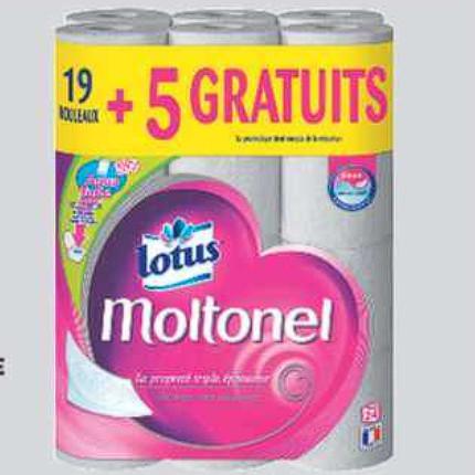Papier Toilette Lotus Auchan Supermarché (08/07/2020 – 14/07/2020)