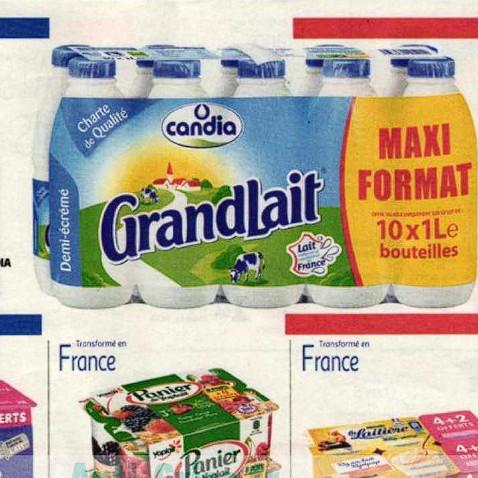 Lait Candia Auchan (01/07/2020 – 07/07/2020)