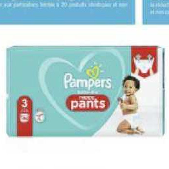 Couches Pampers Géant Casino (08/07/2020 – 19/07/2020)