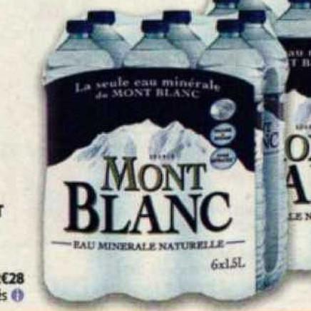 Eau Mont Blanc Auchan (08/07/2020 – 14/07/2020)
