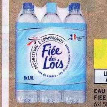 Eau Fiée des Lois Intermarché 30/06/2020 – 12/07/2020