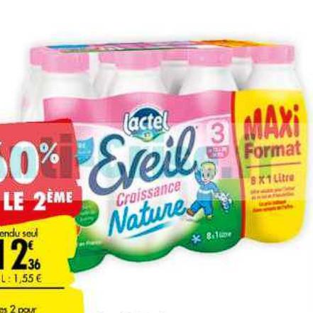 Lait Infantile Lactel Carrefour (07/07/2020 – 20/07/2020)