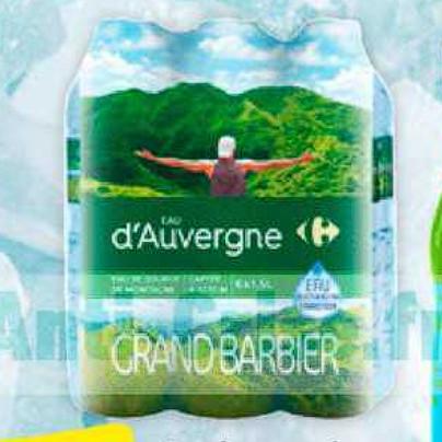 Eau Carrefour 30/06/2020 – 06/07/2020