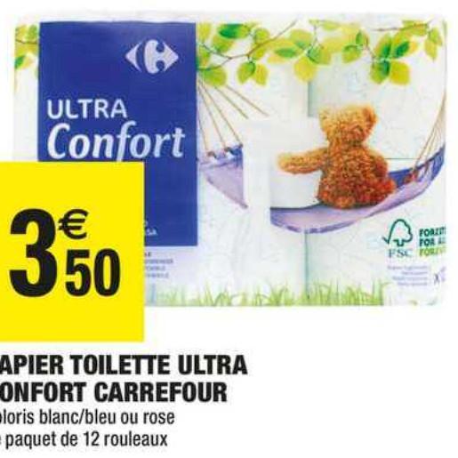 Papier Toilette Carrefour Market (07/07/2020 – 19/07/2020)
