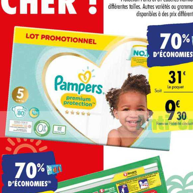 Couches Pampers Carrefour (07/07/2020 – 20/07/2020)