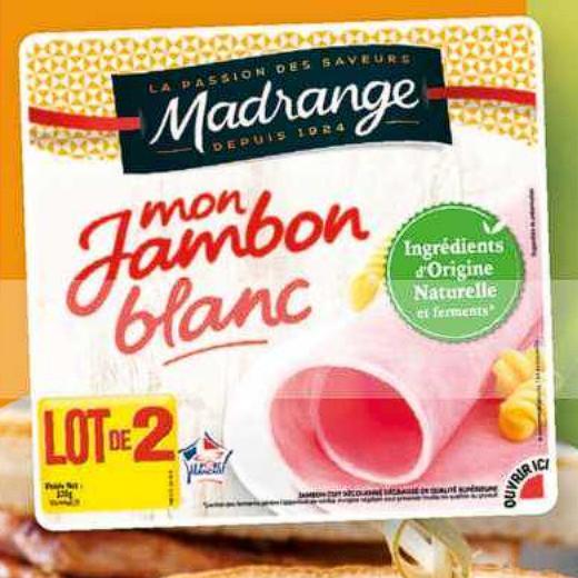Jambon Madrange Carrefour Market (07/07/2020 – 19/07/2020)