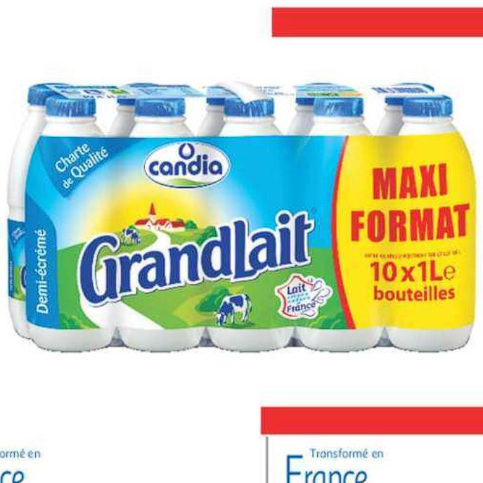 Lait Candia Auchan Supermarché (01/07/2020 – 07/07/2020)