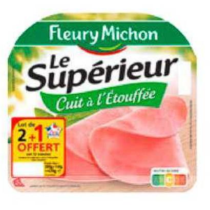 Jambon Fleury Michon Carrefour 30/06/2020 – 06/07/2020