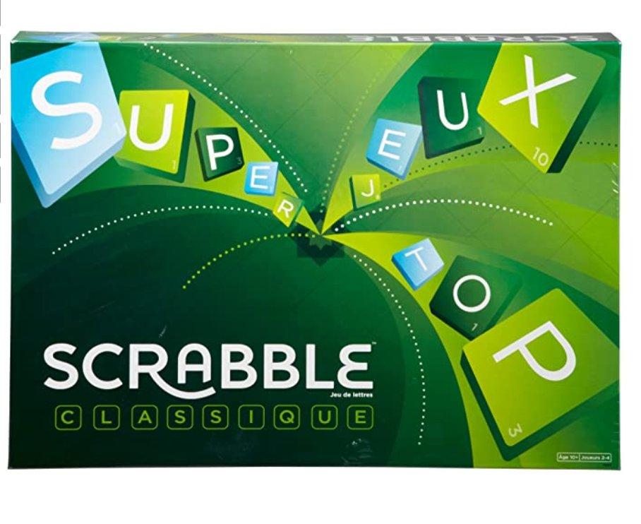 14.99€ le jeu de société du Scrabble