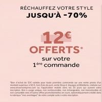 Showroomprive : 12€ de reduction pour 50 d'achats