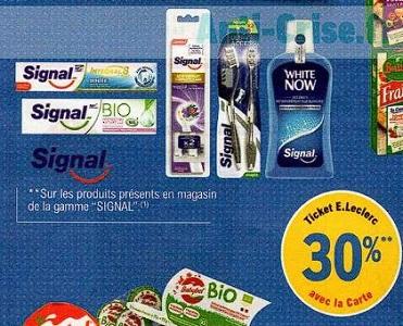 Gamme Signal chez Leclerc (23/06 – 04/07)
