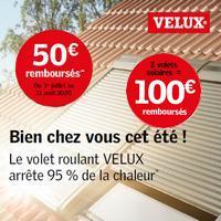 Offre de Remboursement Velux : Jusqu'à 100€ Remboursés sur Volets Solaires