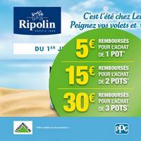 Offre de Remboursement Ripolin : Jusqu'à 30€ Remboursés sur Peintures XPRO3