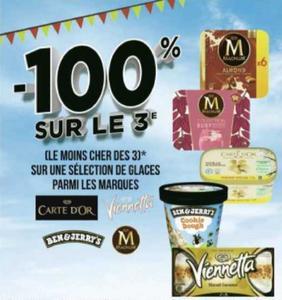 Glaces Magnum chez Géant Casino (27/07 – 09/08)
