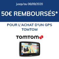 Offre de Remboursement TomTom : 50€ Remboursés sur GPS