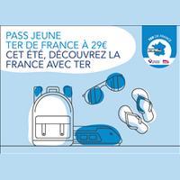 SNCF : Pass Jeune TER à 29€ pour 1 Mois