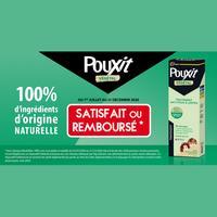 Offre de Remboursement Pouxit : Traitement anti-poux végétal Satisfait ou 100% Remboursé