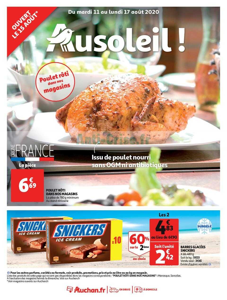 Catalogue Auchan du 11 au 17 août 2020