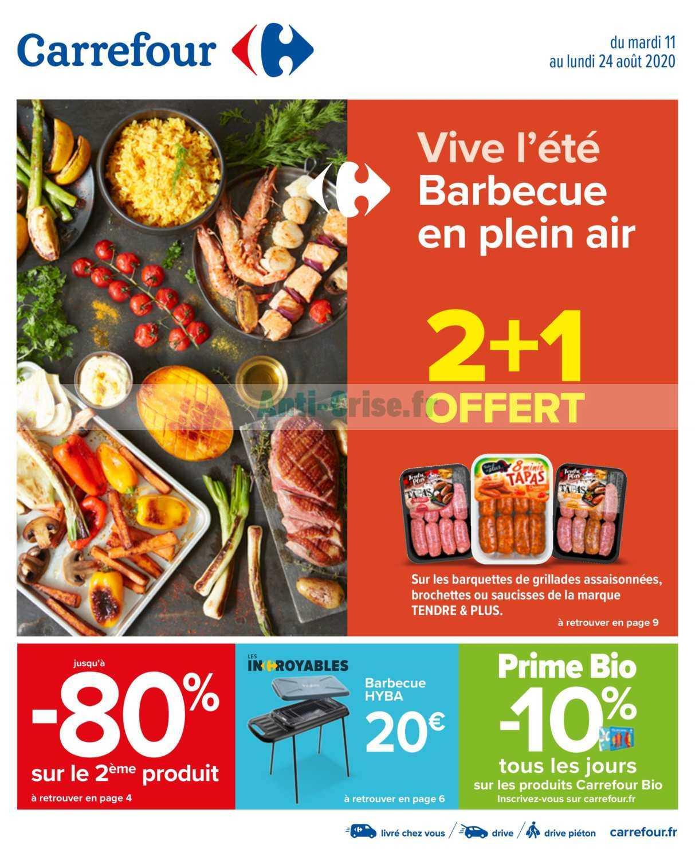 Catalogue Carrefour du 11 au 24 août 2020