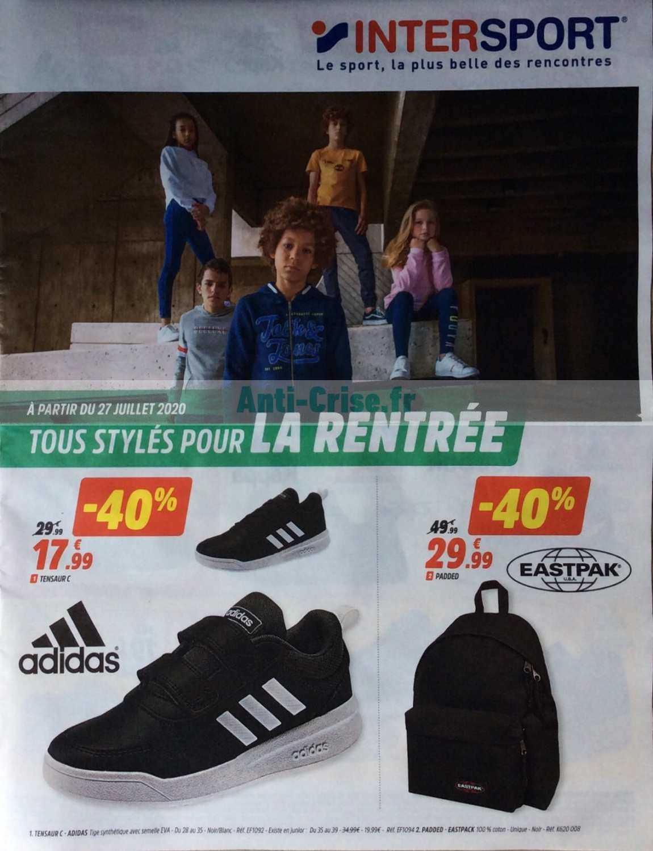 Catalogue Intersport Du 27 Juillet Au 31 Aout 2020 Catalogues Promos Bons Plans Economisez Anti Crise Fr