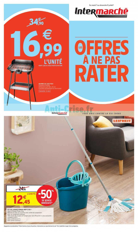 Catalogue Intermarche Du 07 Au 12 Juillet 2020 Les Offres Catalogues Promos Bons Plans Economisez Anti Crise Fr