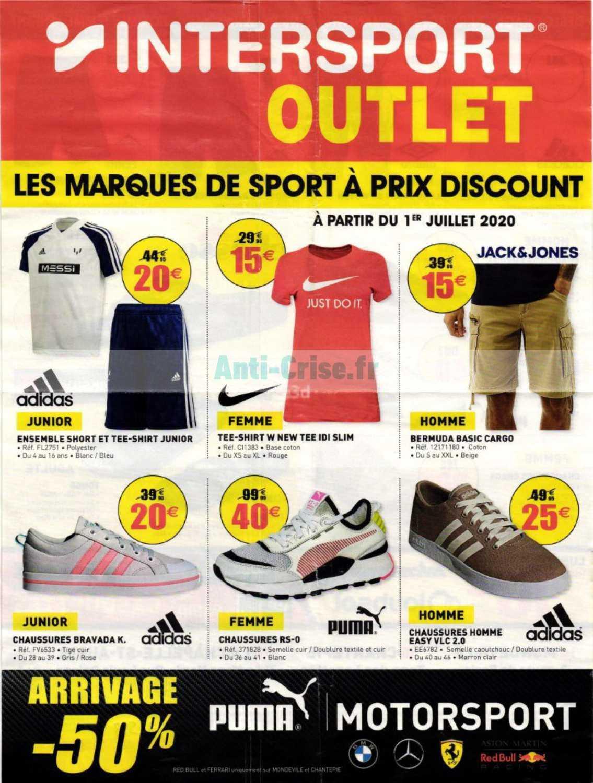Catalogue Intersport Du 01 Au 30 Juillet 2020 Catalogues Promos Bons Plans Economisez Anti Crise Fr