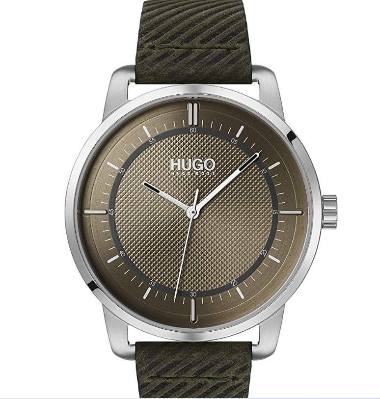 68€ la montre HUGO BOSS pour hommes modele 1530101