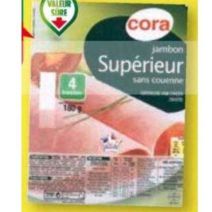 Jambon Cora Match du 07/07/2020 au 13/07/2020