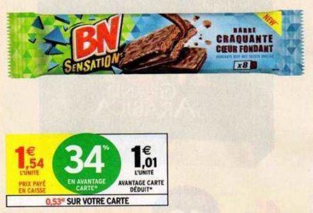 BN Sensation Crousty Break chez Intermarché (11/08 – 23/08)
