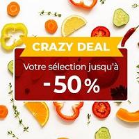 Toupargel Crazy Deal : Jusqu'à -50%