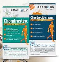 Offre de Remboursement Laboratoire Granions : Chondrostéo Articulations Satisfait ou 100% Remboursé