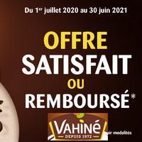 Offre de Remboursement Vahiné : Pâte de Vanille de Bourbon Satisfait ou 100% Remboursé