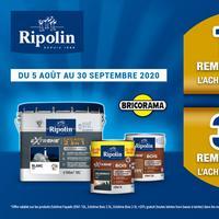 Offre de Remboursement Ripolin : Jusqu'à 30€ Remboursés sur Peinture EXTREME chez Bricorama