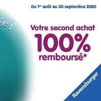 Offre de Remboursement Ravensburger / Nathan : Votre Second Jeu 100% Remboursé