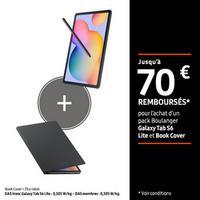 Offre de Remboursement Samsung : Jusqu'à 70€ Remboursés sur Galaxy Tab S6 Lite et Book Cover chez Boulanger