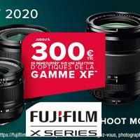 Offre de Remboursement FujiFilm : Jusqu'à 300€ Remboursés sur Appareil ou Objectif