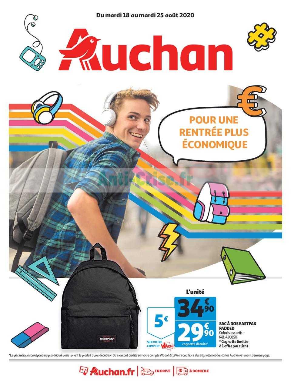 Catalogue Auchan du 18 au 25 août 2020