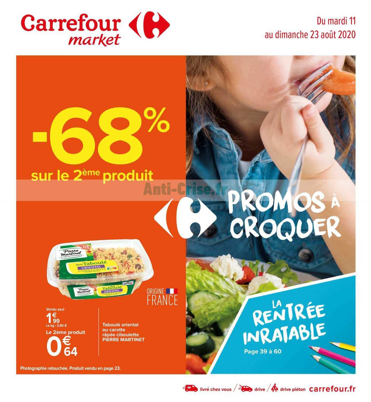 Catalogue Carrefour Market du 11 au 23 août 2020