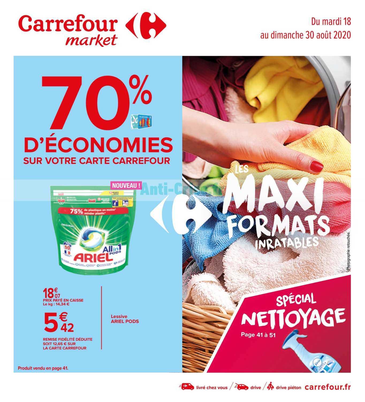 Catalogue Carrefour Market du 18 au 30 août 2020