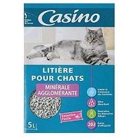 Litière pour Chats Casino chez CDiscount à 6,34€ les 15L