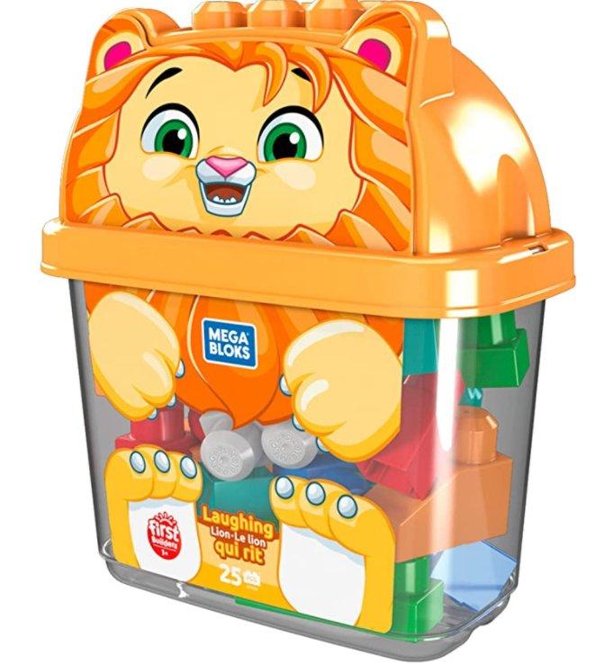 9.99€ la boite de jouets MEGABLOCK FIRST BUILDER LION avec 25 pieces