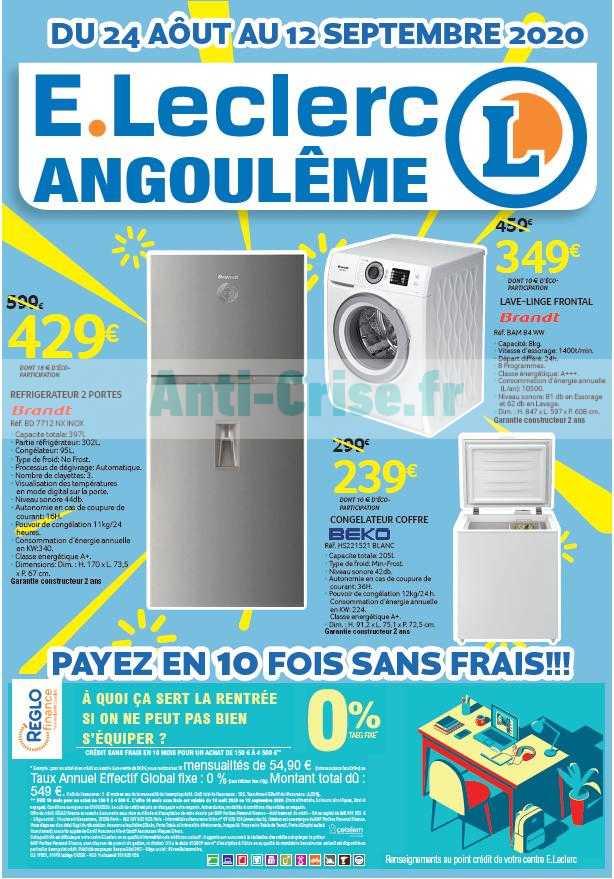 Leclerc Local Le Nouveau Catalogue Du 24 Aout Au 12 Septembre 2020 Est Disponible Ne Ratez Pas Les Promos Du Catalogue