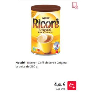 Boisson Original Ricoré chez Leclerc (01/03 - 31/03 ...