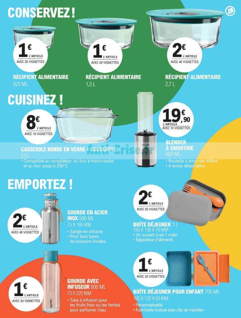 Bon Plan Leclerc - Gamme royalvkb à partir de 1€ - Liste des produits